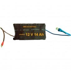Аккумуляторная батарея BMS Eco Battery MINI02 12V14Ah
