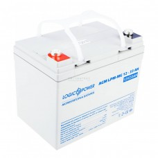 Мультигелевые аккумуляторные батареи LOGICPOWER LPM-MG 12V 33AH