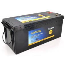 Аккумуляторная батарея Vipow LiFePO4 25.6V 100Ah 2560WH BMS 80A