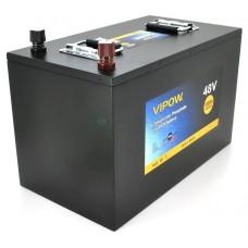 Аккумуляторная батарея Vipow LiFePO4 51.2V 100Ah 5120WH BMS 80A