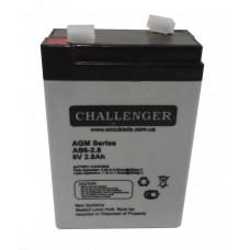 Аккумуляторная батарея Challenger AS 6-2.8
