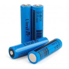 Аккумуляторная батарея UltraFire 18650 1300mAh 3.7V Blue
