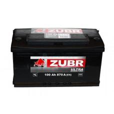 Автомобильная стартерная батарея ZUBR 6СТ-100 820А ULTRA R+