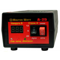 Автоматическое мини пуско-зарядное устройство Master Watt А25 12В 25А