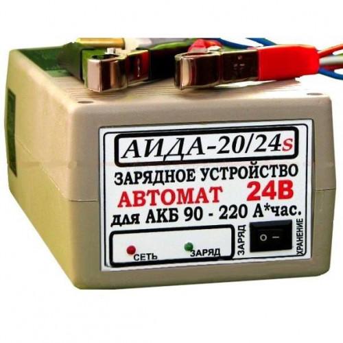 Зарядное устройство АИДА 20/24S гель/кислотный