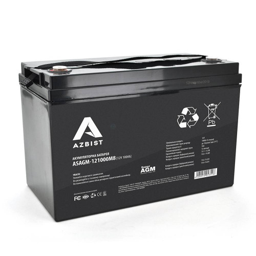 Аккумуляторная батарея AZBIST ASAGM-121000M8