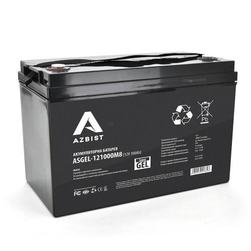Аккумуляторная батарея AZBIST ASGEL-121000M8