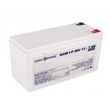 Аккумуляторная батарея LogicPower AGM LP-MG 12-7 AH SILVER