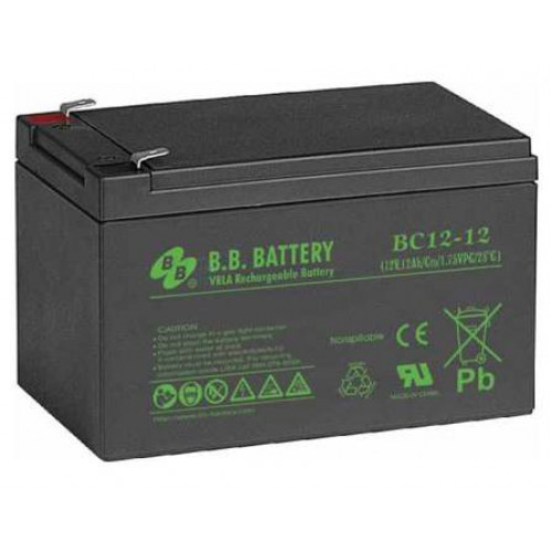 Аккумуляторная батарея B.B. Battery BС 12-12