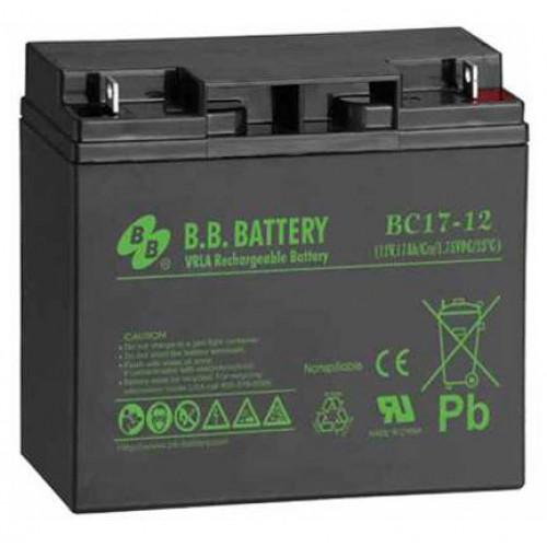 Аккумуляторная батарея B.B. Battery BС 17-12
