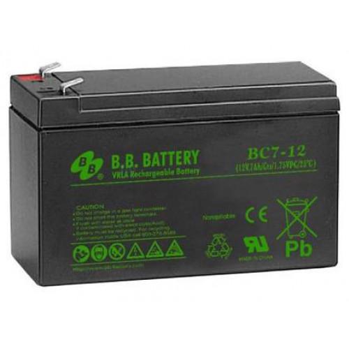 Аккумуляторная батарея B.B. Battery BС 7-12