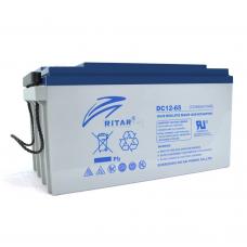 Аккумуляторная батарея RITAR DC12-65