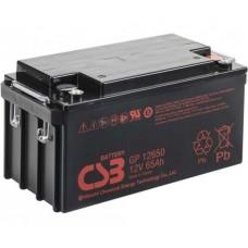 Аккумуляторная батарея CSB GP12650 12V65Ah