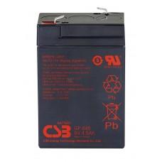 Аккумуляторная батарея CSB GP645 6V4,5AH