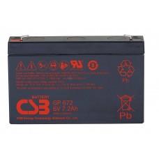 Аккумуляторная батарея CSB GP672 6V7,2AH