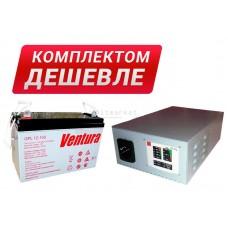 Комплект резервного питания для работы газового котла AK800M-GPL12100