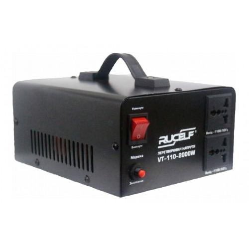 Преобразователь напряжения 220В в 110В Rucelf VT110-2000w-D