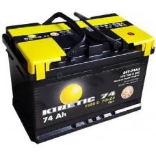 Автомобильная стартерная батарея KINETIC 6СТ-74 720А M3 R+
