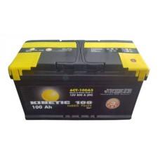 Автомобильная стартерная батарея KINETIC 6СТ-100 850А M3 R+