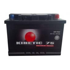 Автомобильная стартерная батарея KINETIC 6СТ-75 540А M2 L+
