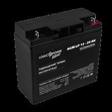 Аккумуляторная батарея LogicPower AGM LP 12-20AH SILVER