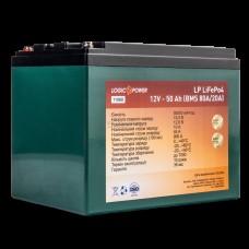 Аккумуляторная батарея LogicPower LP LiFePo-4 12V-50 Ah BMS 50А/25A