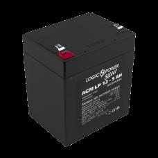 Аккумуляторная батарея LogicPower AGM LP 12-5.0AH SILVER