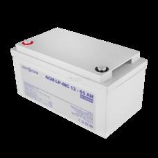 Аккумуляторная батарея LogicPower AGM LP-MG 12-65 AH SILVER