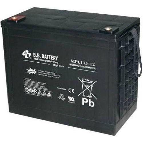 Аккумуляторная батарея B.B. Battery MPL135-12/L3