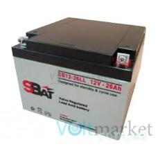 Аккумуляторные свинцово-кислотные батареи StraBat SB 12-26LL