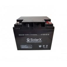 Аккумуляторная батарея SolarX SXA 40-12