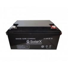 Аккумуляторная батарея SolarX SXA 65-12