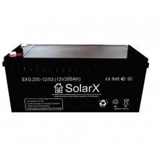 Аккумуляторная батарея SolarX SXG200-12