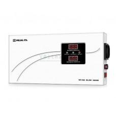 Стабилизатор напряжения REAL-EL STAB SLIM-1000 white