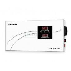Стабилизатор напряжения REAL-EL STAB SLIM-500 white