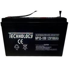 Герметичные аккумуляторные батареи TECHNOLOGY NP12-100