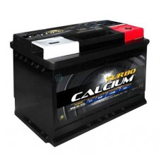 Автомобильная стартерная батарея TURBO CALCIUM 6СТ-75 700А 276x175x190 R+