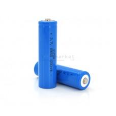 Аккумуляторная батарея Vipow ICR18650 TipTop 1200mAh 3.7V