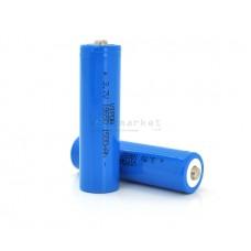 Аккумуляторная батарея Vipow ICR18650 TipTop 1500mAh 3.7V