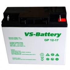 Аккумуляторные свинцово-кислотные батареи VS-Battery VS GP12-17