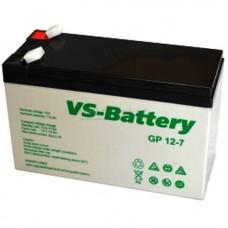 Аккумуляторные свинцово-кислотные батареи VS-Battery VS GP12-7
