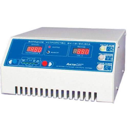 Зарядное устройство SinPro ЗУ 12/24-30А АктиON