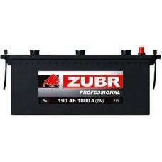 Автомобильная стартерная батарея ZUBR 6СТ-190 1000А ULTRA R+